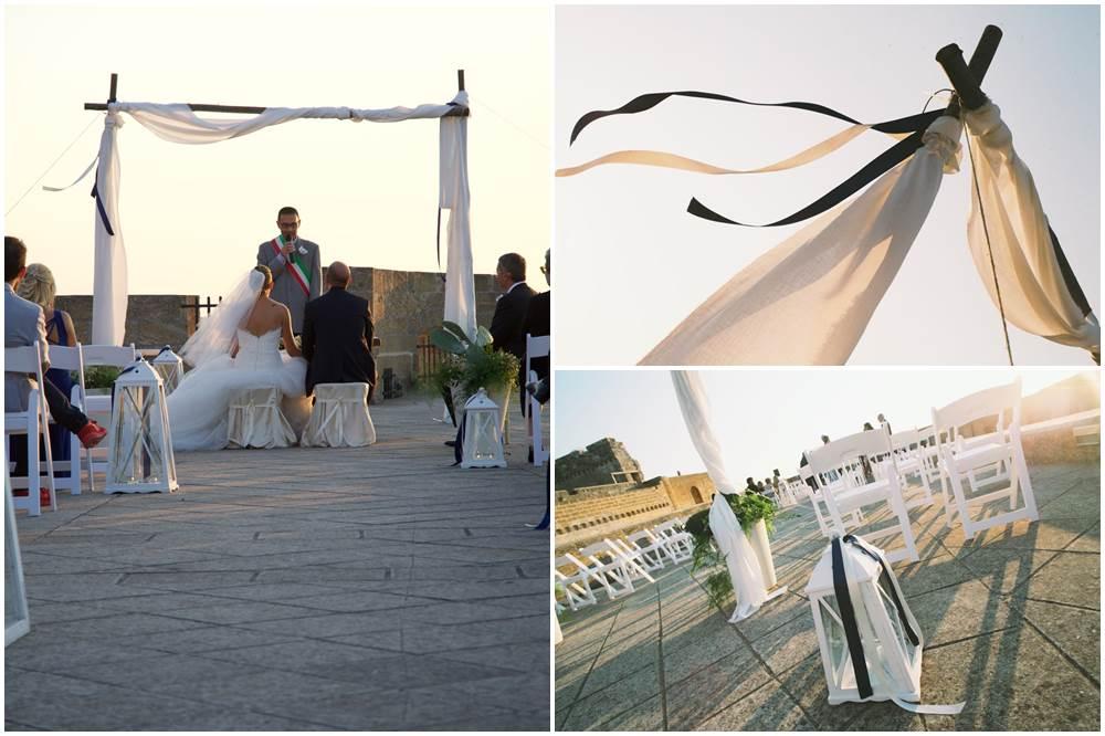 04-Matrimonio Castello di Castro - Lecce LeeCeventi wedding planner