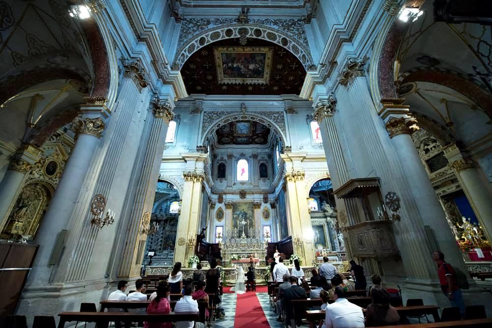 Religious wedding in italy - Duomo di Lecce - LeccEventi wedding planner
