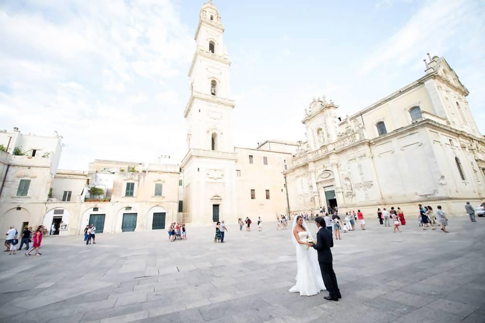Destination wedding Puglia Italy - Matrimonio Duomo di Lecce - LeccEventi wedding planner
