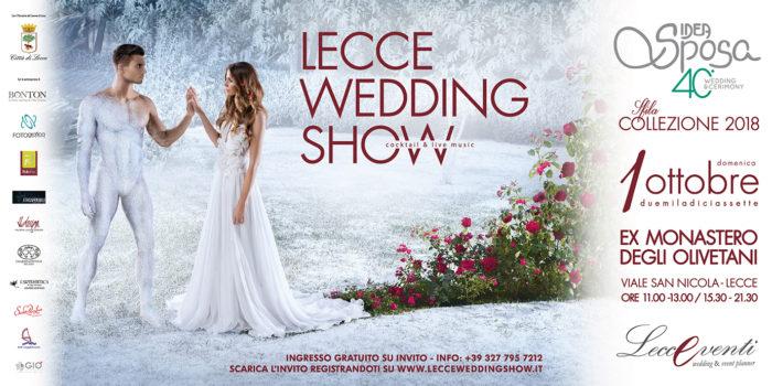 Lecce Wedding Show 2017 - 1 ottobre Ex Convento degli Olivetani